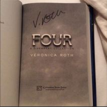 signed copy of Four