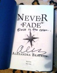Signed Never Fade
