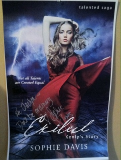 Signed poster for Exiled