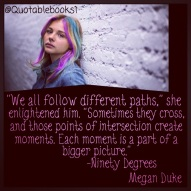 charleigh mcafee, chloe moretz, follow different paths