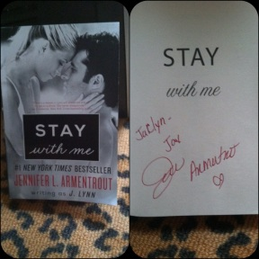 Signed Stay with Me