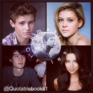 larson ashby, audrina ashby, paxton graham, jade walbridge, owen spencer, small circles ghost